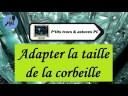 [Tuto informatique#Vidéo N°70] Adapter la taille de la corbeille-Voix-Off-fr