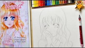 Tuto Dessin Crayons De Couleur Polychromos Le Voyage De Hana Tome 2