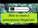 [Tuto informatique#Vidéo N°338] How to create a participatory Paypal pot
