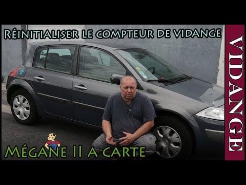 Réinitialiser le compteur de vidange Renault Mégane II (how to reset oil change indicator)