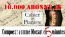 [10K d'abonné.es] Composer comme W.A. Mozart en 5 minutes !