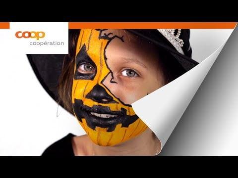 Tutoriel – Maquillage de courge pour Halloween