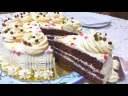 Délicieux Cake de fête & Crème sans beurre + recette Génoise facile 💯 réussie