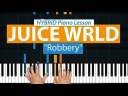 "How To Play ""Robbery"" by Juice Wrld 