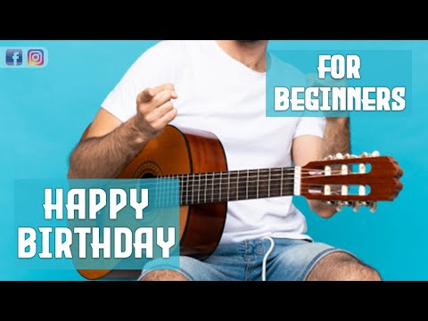 Happy birthday | guitar | Tutorial | Solo Music Band