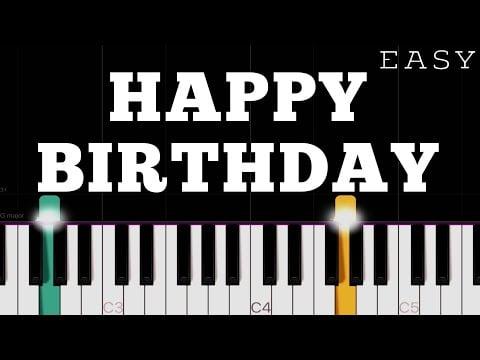 Happy Birthday To You | EASY Piano Tutorial