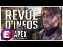 NEWS APEX : NOUVELLES MUNITIONS ET ARMES, PENDENTIFS, RANKED EXPLOIT ET REDDIT | Apex Legends FR
