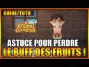 GUIDE/TUTO – ANIMAL CROSSING NEW HORIZONS – COMMENT PERDRE LE BUFF DES FRUITS – FR