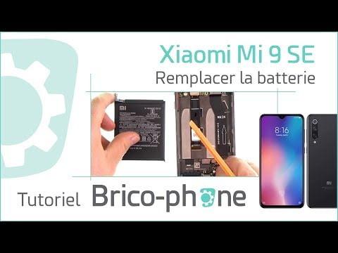 Tutoriel Xiaomi Mi 9 SE : changer la batterie