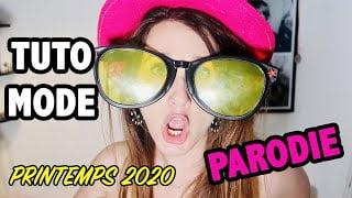 TUTO MODE PRINTEMPS 2020 : PARODIE ANGIE MAMAN 2.0