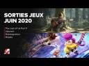 LES SORTIES JEUX VIDÉO JUIN 2020 | CALENDRIER