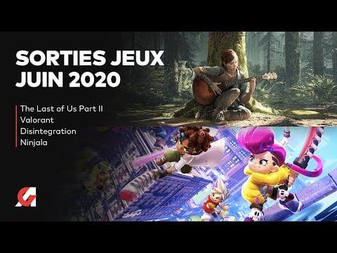 LES SORTIES JEUX VIDÉO JUIN 2020   CALENDRIER