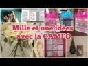 Mille et une idées Silhouette Cameo – Scrapbooking Carterie tutoriels français