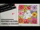 Scrapbook Carterie tutoriels français Utilisation Feutres Alcool ACTION Combos de couleur TWINMARKER