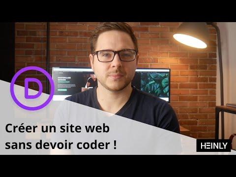 Comment créer un site web professionnel – Tutoriel débutant 2020 – Divi