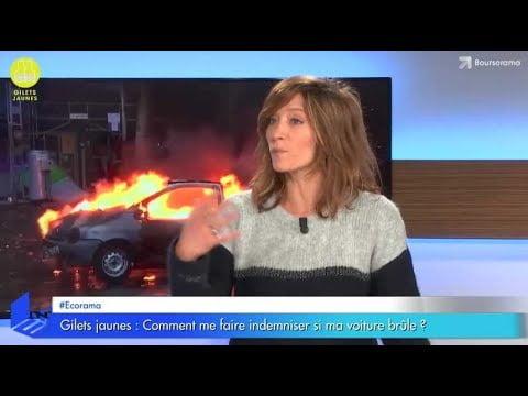 Gilets jaunes : comment faire si ma voiture brûle ?