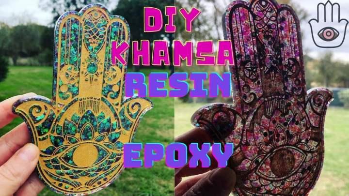 DIY KHAMSA RESINE EPOXY RESINPRO