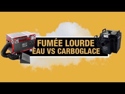 Astuce Dj Évenementiel : Machine à fumée lourde Carboglace VS Eau ? Quoi acheter ?