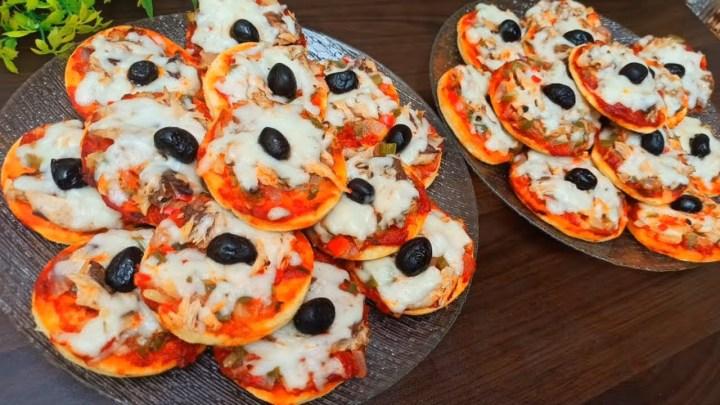 Pizza à la Poêle ‼️ Recette facile et tooooop 👌 Recette Mini Pizza