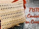 TUTORIEL COUSSIN DÉCORATIF EN CROCHET   Tracy M. Crochet