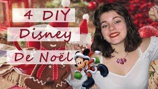 [NoëlDisney#2] 4 DIY DISNEY POUR DECORER LE SAPIN !