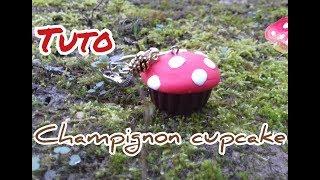 ~TUTO FIMO : champignon cupcake