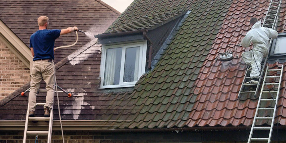 clean roof - tut roofing