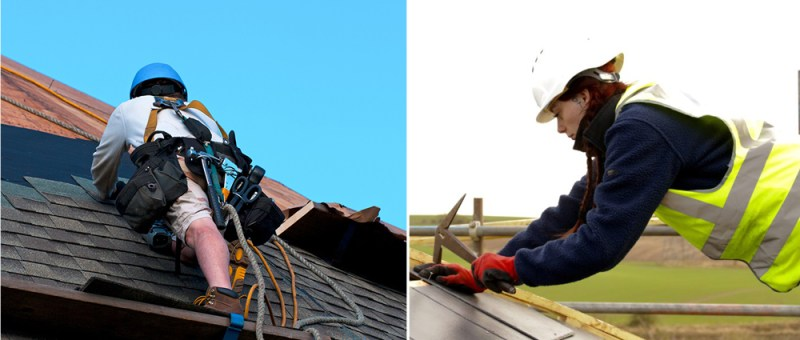 can roofing done alone
