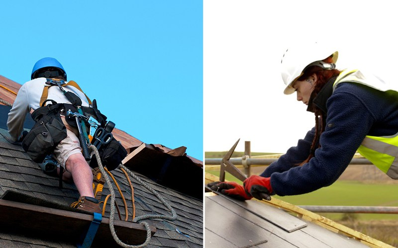Can Roofers Work Alone