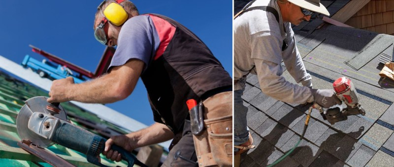 Can A Roofing Help With An Angle Grinder