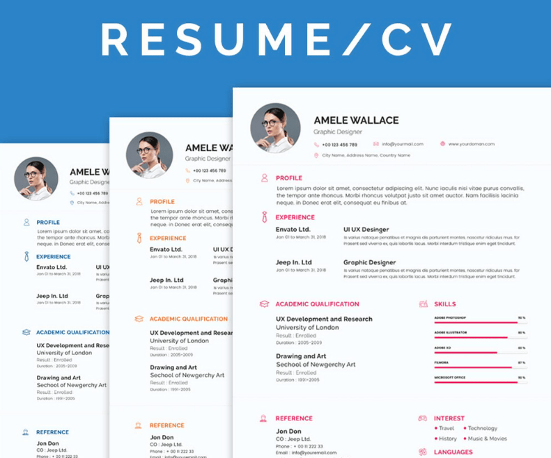 Free Smart Resume/CV With Cover Letter