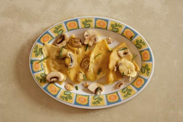 frittata veg ceci funghi farinata rosmarino pranzo università studenti universitari