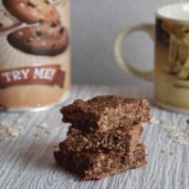 quadrotti cacao e ricotta dolce colazione light fit ricetta facile