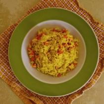 risotto carote curcuma light ricetta