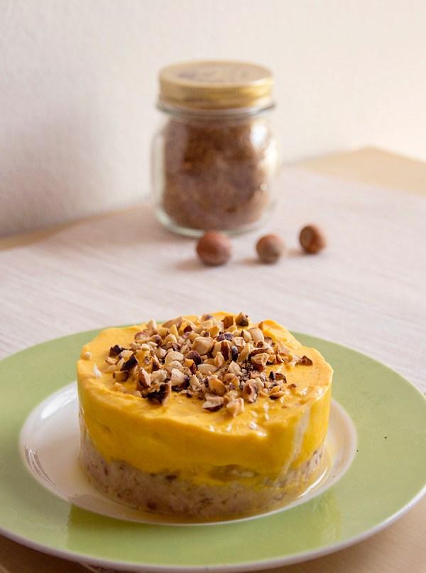 cheesecake gelato alla zucca dolce proteico light fit delica