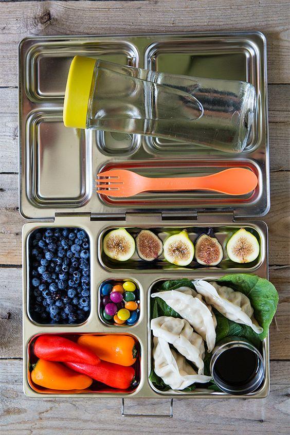 lunchbox scatola portapranzo acciaio inox ecologico zero waste studenti