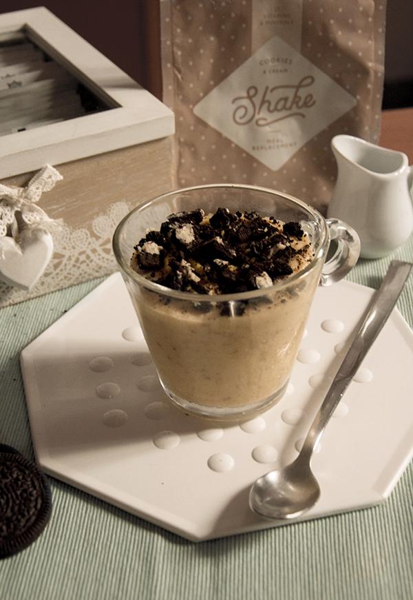 porridge exante biscotti e crema