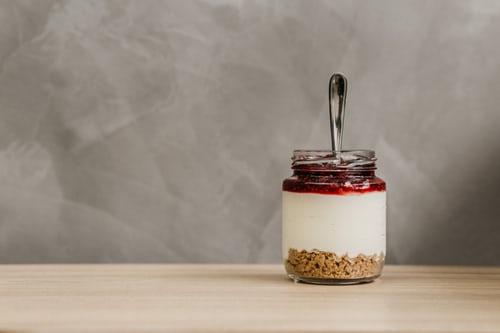 yogurt greco skyr marmellata colazione