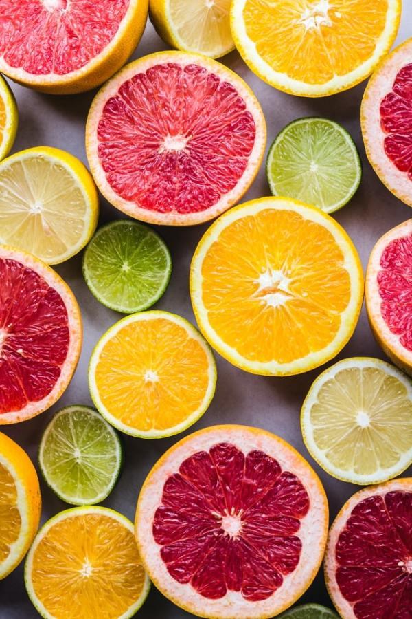 vitamina c agrumi cura della pelle bellezza salute vitamine alimentazione dieta