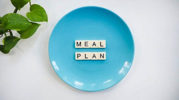 meal plan menù settimanale