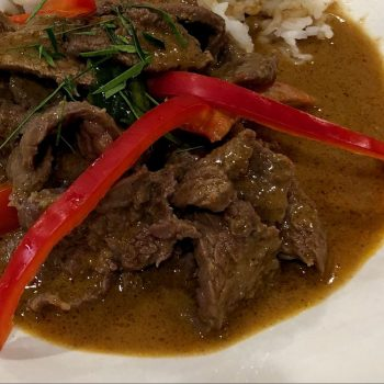 Panang Beef Curry
