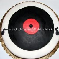 Torta Vinile