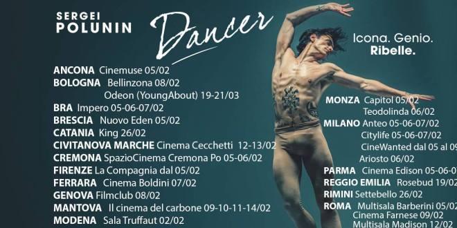 Dancer su Sergei Polunin al cinema fino al 21 marzo