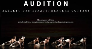 Audizione in Germania indetta da Staatstheaters Cottbus