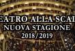Teatro alla Scala: ecco la nuova stagione 2018/2019!