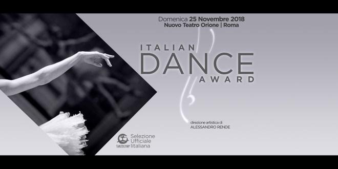 Italian Dance Award, il concorso di danza diretto da Alessandro Rende