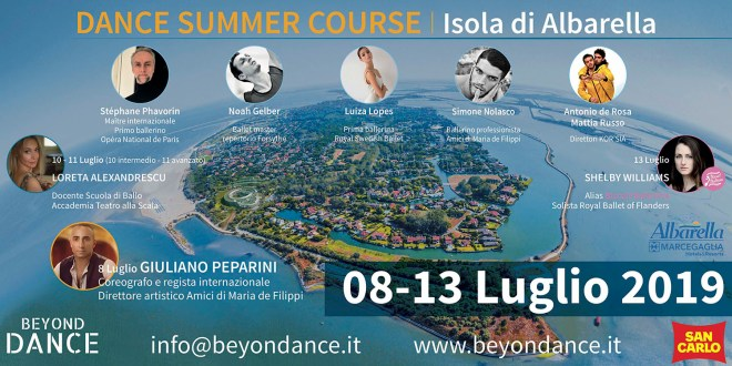 BEYONDANCE International Dance Summer Course 2019!