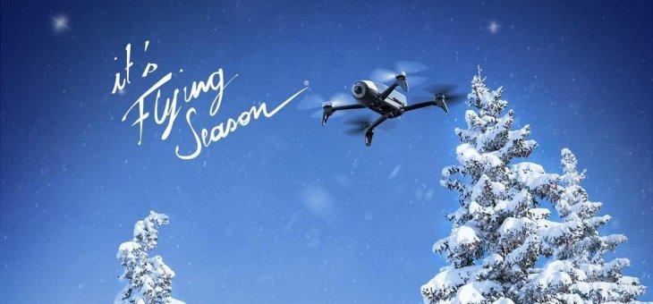 ParrotBebop 2, Bebop 2 FPV e Pot: al via l'evento promozionale it's Flying Season – Winter edition