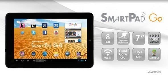Recensione Approfondita Tablet Mediacom SmartPad 7.0 Go (mp-725go)