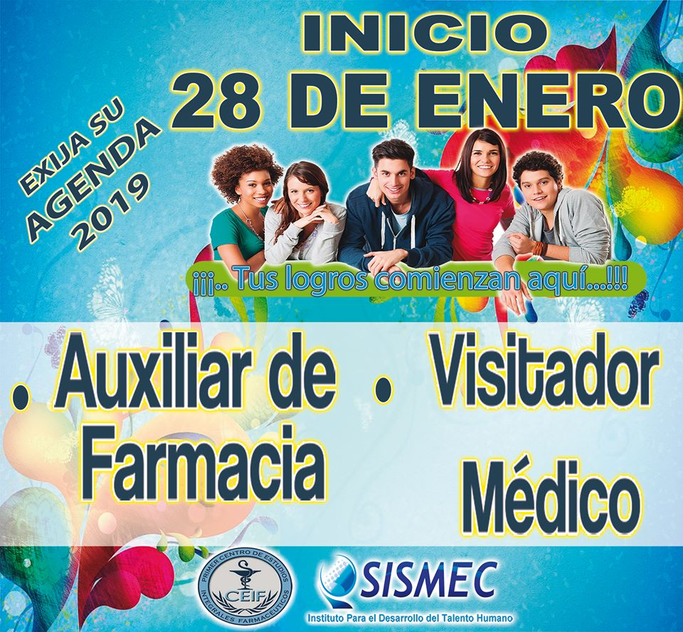 Curso Auxiliar de farmacia Y Visitador Medico